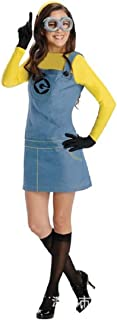 Withchic Minion Women's Adult Dress Up/Role Play Costume Cosplay Party Fancy Dress Blue