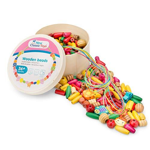 New Classic Toys Boîte de Perles Jeu Éducatif pour Enfants