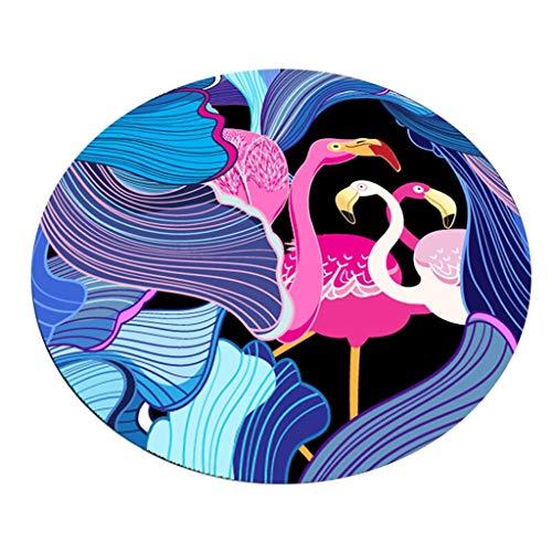JCOCO La Zone de Tapis de Fleurs de Mode Facile à Manipuler des Taches Anti-Fading (Couleur : #4, Taille : 160 * 160cm)