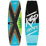 KSP Tabla Hammer Wakestyle completa de Kitesurf 135/137/139/141 Kite Board (137 x 42 cm)