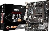 MSI ProSeries AMD Ryzen 2ND and 3rd Gen AM4 M.2 USB 3 DDR4 D-Sub DVI HDMI Crossfire ATX Motherboard (B450-A Pro Max) (B450APROMAX) (Renewed)