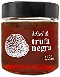 Miel con Trufa Negra - 100% Natural Pura de Abeja, Cruda, 300gr - Origen: El Bierzo, España