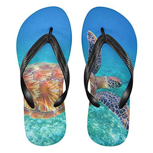 Linomo Chanclas de dedo para hombre y mujer, estilo informal, para el verano, para la playa, color Multicolor, talla 35/36 EU