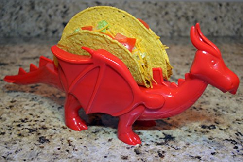 Dragon Taco Holder Red or Green – The Perfect Gift for All Who Love Dragons