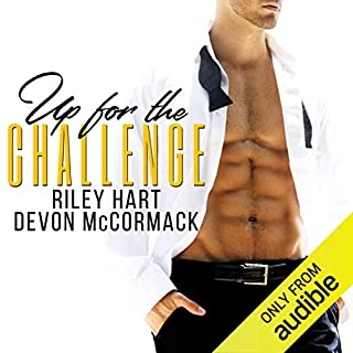 Up for the Challenge audiobook cover art