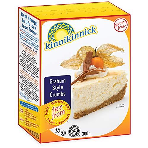 Kinnikinnick Gluten Free Graham Style Crumbs, 10.5 Ounce