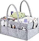 Baby Windel Caddy Organizer Filzkorb,Windel Caddy Organizer,Baby Box Lagerung Tragbarer Auto...