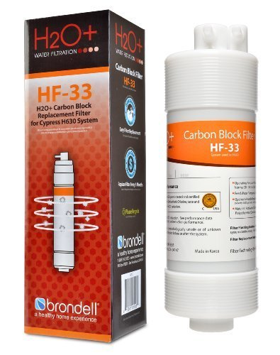 Brondell H2O+ Cypress Carbon Block Water Filter (HF-33)