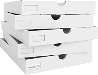Endbearbeitungs-Aufbewahrungskorb B/üroartikel-Aufbewahrungsbox Perfekt f/ür Zuhause Kraftpapier-B/üro-Aufbewahrungsbox B/üro-Mehrzweck-Gestell,Threefloors Studenten