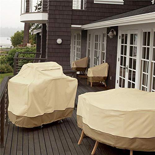 HHTC Cubiertas de los muebles del patio, del sofá de la cubierta, Campanas y lonas, juegos de muebles, de muebles de cubierta, cubierta de lluvia, toldos y Tono, 58 '64' 70 '72' robusta cubierta imper