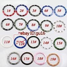 FidgetGear 40mm Sapphire Glass Watch case for ETA 2836 Mingzhu 2813,3804 Miyota 8205/8215 Bezel x 1 One Size