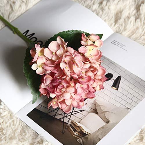 Hunpta@ Künstliche Hortensie Blumen Kunstblumen Blumenarrangement DIY Büro Haus Balkon Garten Hochzeit Party Valentinstag Dekoration