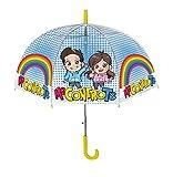 coriex - ombrello cupoletta con manico me contro te