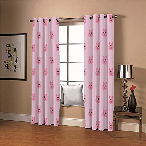 cortinas habitacion una pieza