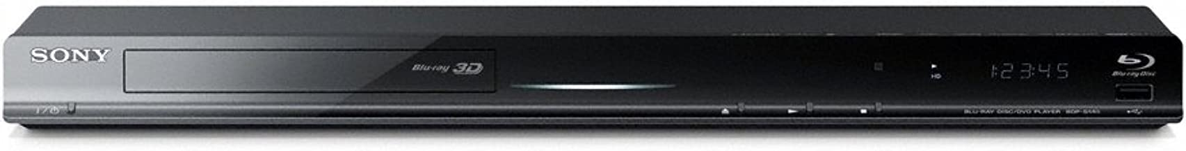 Sony BDP-S580 Blu-ray Disc Player (Black)