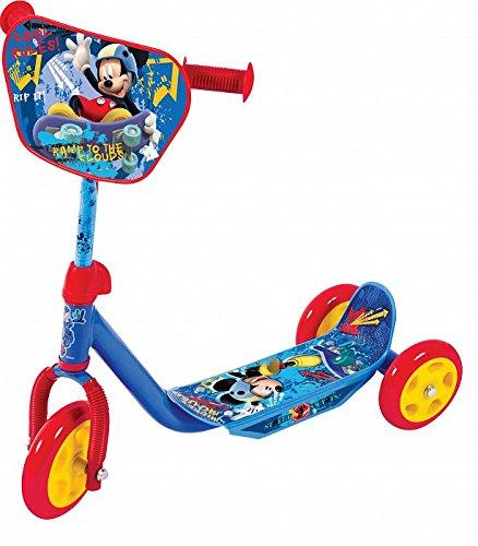 Disney Mickey Mouse Kinder 3 RÄDER Roller Fahren UND Spielzeug Scooter