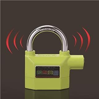 Waterproof Anti - Theft Lock Bike Motorcycle Alarm Disc Lock Home Security Lock for Motorbike Alarma Moto Green