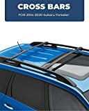 ISSYAUTO Roof Racks Cross Bars for 2014-2020 Subaru Forester, 2013-2020 Subaru Crosstrek Roof Rail Cross Bars