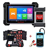 Autel Maxisys Pro MK908P(MS908P/MS908SP) OBD2 Diagnostic Scanner For ECU coding, Active Test, J2534 Reprogramming (Same as Maxisys Elite, Upgraded Version of Maxisys Pro) With Free Car Battery Tester