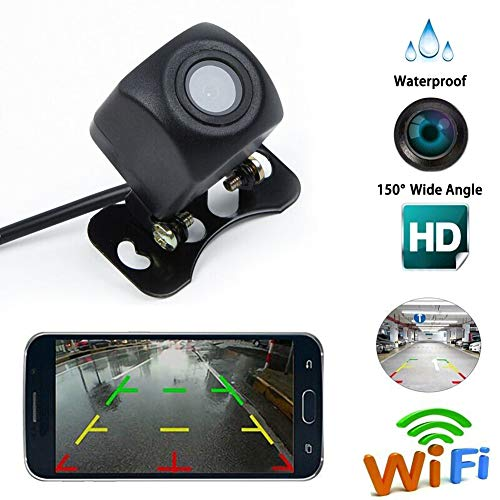 housesweet Wireless WiFi Rückfahrkamera wasserdicht Night Vison für Android IOS Smartphone