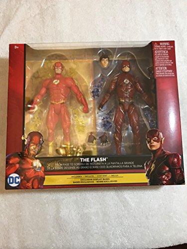 DC 'Figura set Comics Multiverse Justice League The Flash & REBIRTH The Flash 6Action Figure