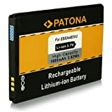 PATONA Batería EB504465VU Para Samsung APOLLO B7300 B7330 B7610 B7620 i329 i390 i5700 i5800 Galaxy 3 i6410 I7500 Galaxy R880 R910 S8500 i8320 H1 Vodafone 360 i8350 i8700 Omnia 7