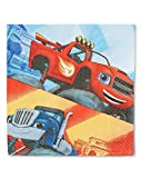 Blaze and the Monster Machines Luncheon Napkins, Party Favor