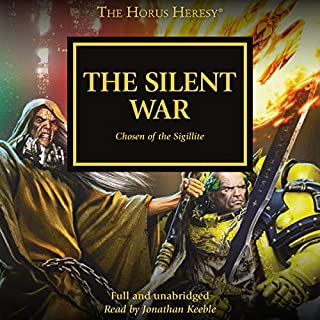 The Silent War     The Horus Heresy, Book 37              De :                                                                                                                                 C Z Dunn,                                                                                        John French,                                                                                        Nick Kyme,                   and others                          Lu par :                                                                                                                                 Jonathan Keeble                      Durée : 14 h et 1 min     Pas de notations     Global 0,0