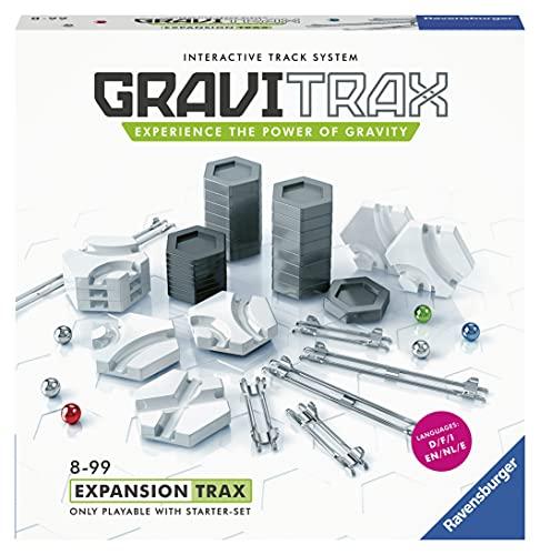 Ravensburger 27601 GraviTrax Trax Erweiterungsset – Marmor Run & StEM Jungen und Mädchen ab 8 Jahren – mehrfach preisgekröntes Spielzeug – englische Version