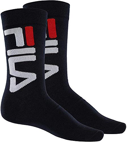 Fila F9632, Socken Uni, grau, 43/46