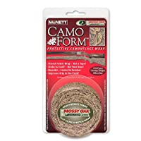 US マクネット カモフォーム マルチカム カモフラージュ保護ラップ 迷彩テープ (McNETT) (CAMO-FORM)(MOSSY OAK SHADOW Grass)