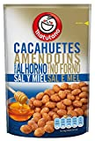 MATUTANO cacahuetes con sal y miel bolsa 70 gr