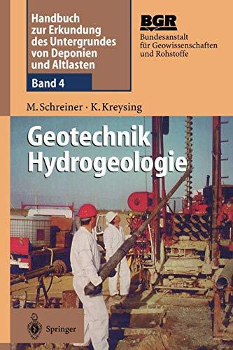 Geotechnik Hydrogeologie