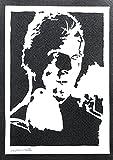 Póster Blade Runner El Replicante Roy Batty Grafiti Hecho a Mano - Handmade...