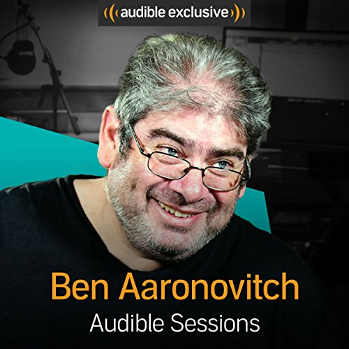 Ben Aaronovitch audiobook cover art