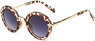 ZYJ - Gafas de Sol Redondas de Moda para niños Gafas de Sol para niños Gafas de Sol Anti UV para bebés Gafas de Sol Vintage para niña Gafas de Sol para niña UV400 Frescas