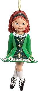 Best Kurt Adler Irish Girl Dancer in Green Dress Christmas Ornament Review