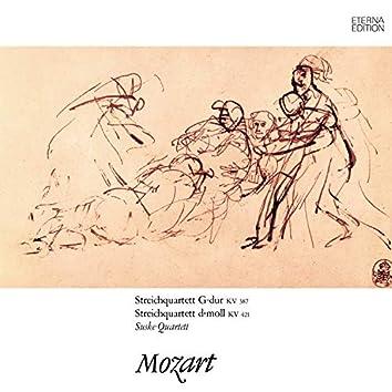 Mozart: Streichquartette No. 14 & 15