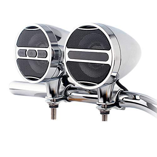 TOOGOO 12 V Motorrad Mp3 Audio Alle Metall Auto Lenker Audio Elektro Auto wasserdichte Horn Einstecken Radio Box