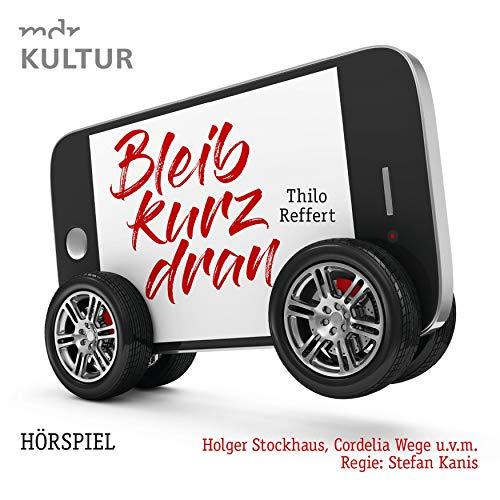 Bleib kurz dran audiobook cover art