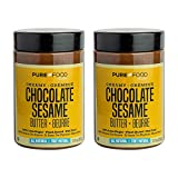 LOW SUGAR BUTTER SPREAD - Check the label and compare. Pure Food by Estee's Chocolate Sesame Butter has 40% less sugar than the leading brand of spread. INDULGENT CHOCOLATE SPREAD - Give in to your cravings and indulge in the super creamy and smooth ...