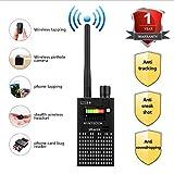 Anti Spy Wireless RF Signal Detector, Bug Detector, Upgraded Hidden Camera Detector, KORKUAN GSM Eavesdropping Device for Wireless Audio Bug, GPS Rader Radio Scanner