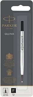 Parker Rollerball Pen Refill Fine Nib, Black
