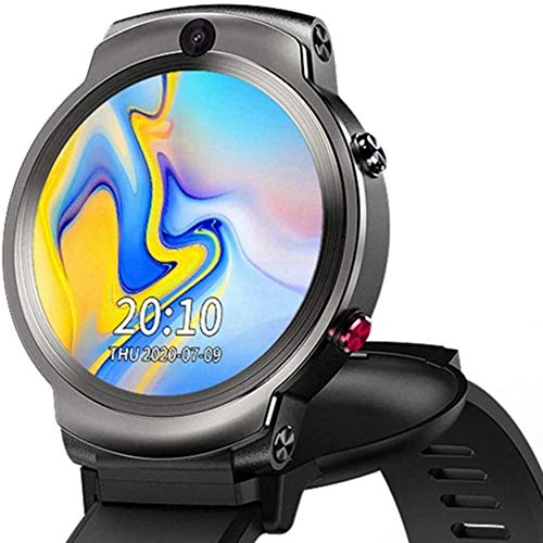 1.6 pulgadas pantalla cara ID32G doble cámara videollamada 4G 1280Mah smartwatch Android 3G 32G WIFI reloj teléfono GPS reloj inteligente