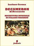Decameron in italiano moderno (Immortali in prosa)