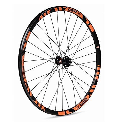 GTR GTR-SL Rueda delantera para MTB, unisex adulto, naranja, 27.5' x 20 mm