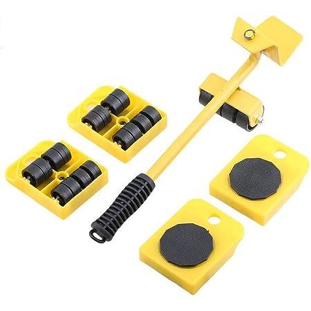 XLtools Pro Technik Lot de 5 roulettes pour soulever et déplacer des meubles Charge maximale 150 kg