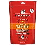 Stella & Chewy's Freeze-Dry Raw Stella's Super Beef Dinner Patties Comida para Perros, 5.5 onzas