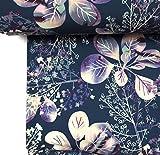 Doppelmoppel Softshell Blumen Watercolor Regenjacke