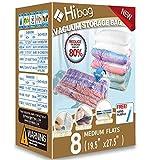 Hibag Space Saver Bags, Vacuum Storage Bags (8-Medium)